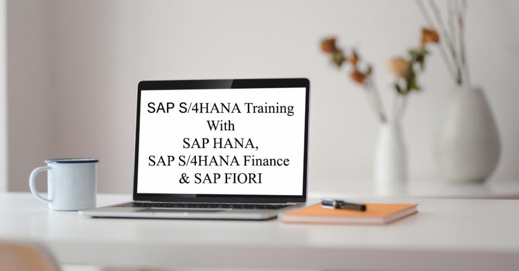 SAP S4hana business suite training with sap hana, sap s4hana finance and, sap fiori